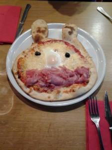 Ça, c'est une pizza!