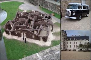 Le Chateau des Ducs de Bretagne et le labyrinthe