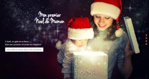 "Box Noël Maman Bébé ""Mon Premier Noël de Maman"""