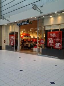 "Le magasin de Rennes Cleunay """"""mon"" magasin)"