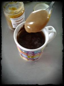 Recette Mugcake Chocolat Caramel Beurre Salé breton