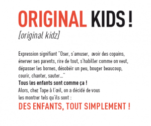 Original Kids Tape à l'Oeil