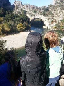 Kayakistes Arche Marathon de l'Ardèche