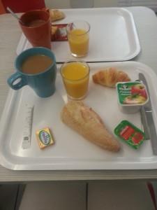 Petit-déjeuner Hôtel Première Classe