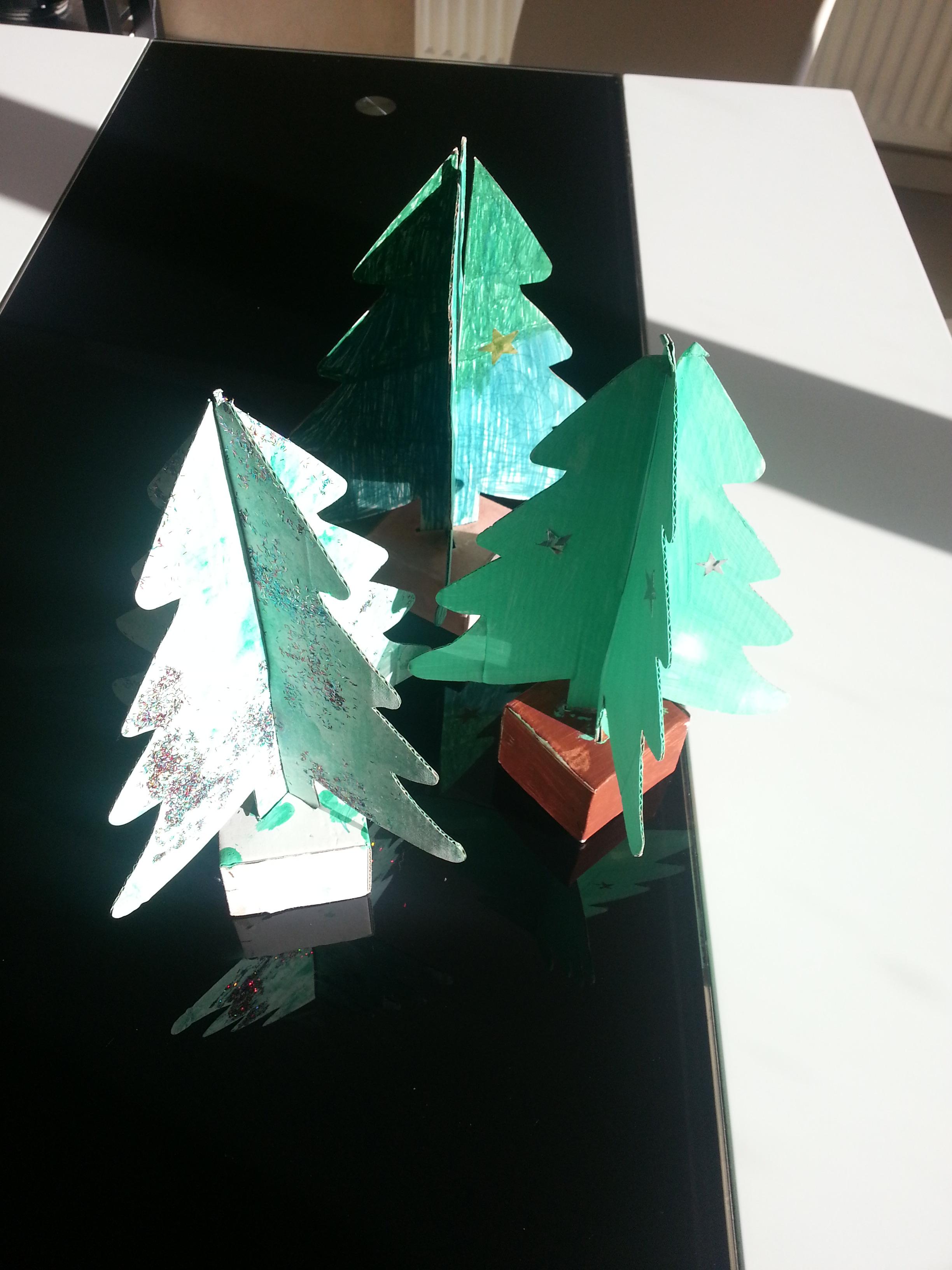 Sapin Noël Déco Ecole