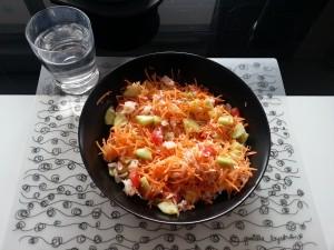 Idées menus salade composée