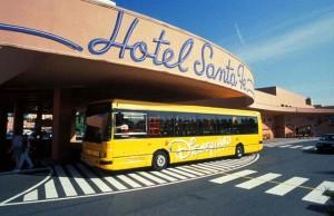 Quel hôtel choisir à Disneyland - navette depuis les hôtels vers le parc