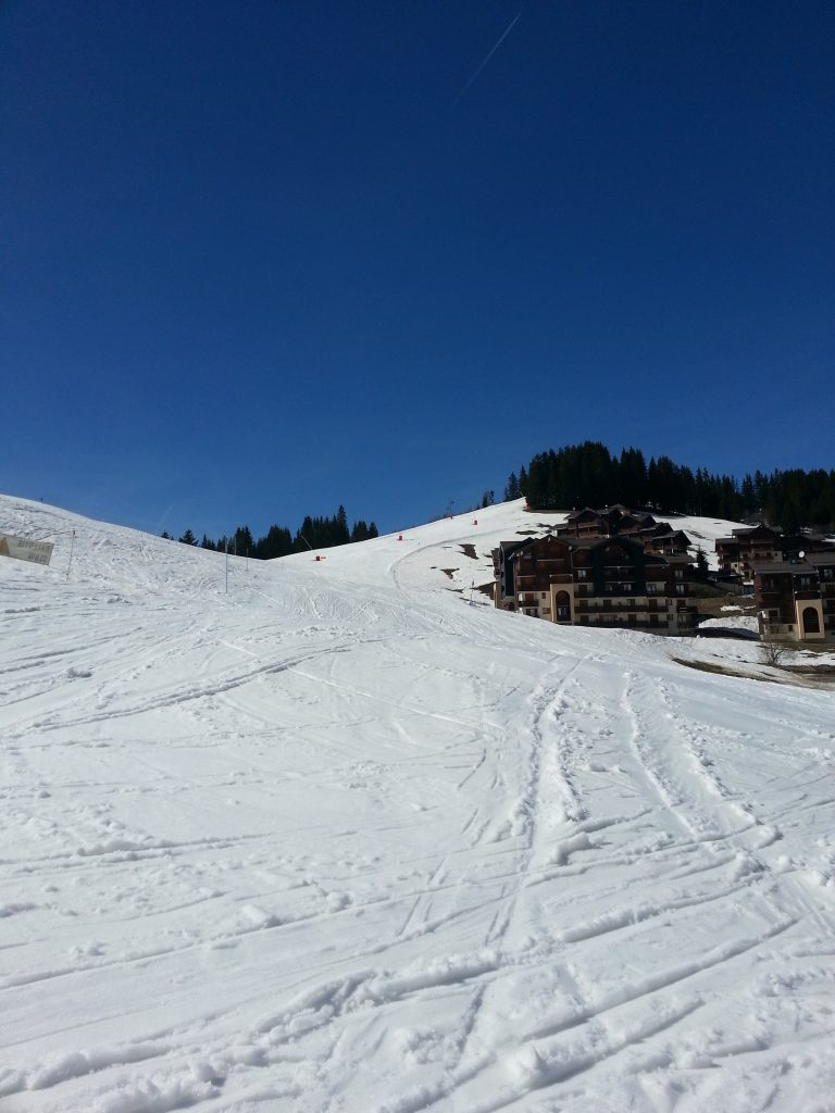 ski avec les enfants pendant les vacances d'avril