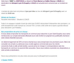Mail 23h20 OuiGo