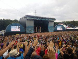 Paleo Festival avec des enfants - Concert rap