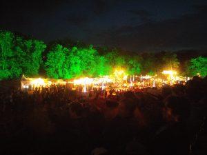 Paleo Festival avec des enfants - La Nuit