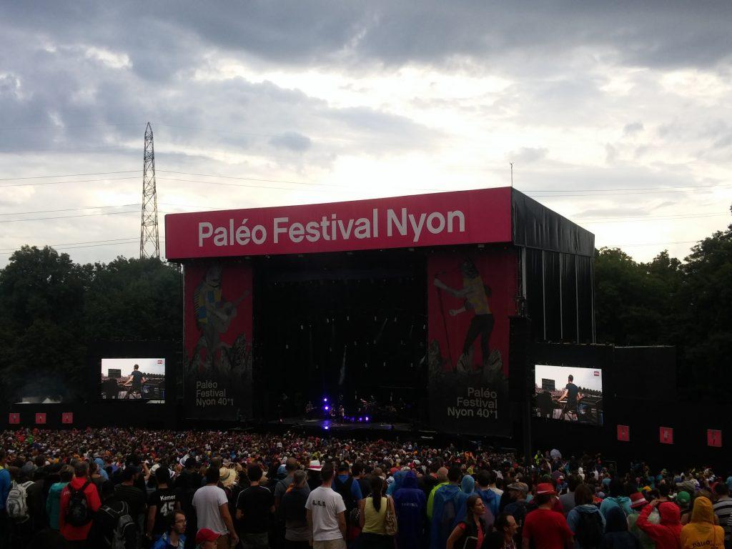 Paleo Festival avec des enfants - la Grande scène
