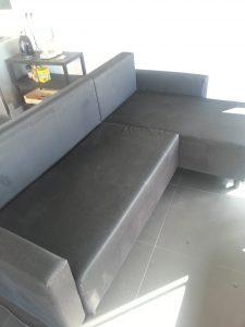 Nettoyage canapé en tissu - après