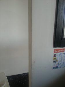 Nettoyage murs blancs sales -peinture non lessivable 1