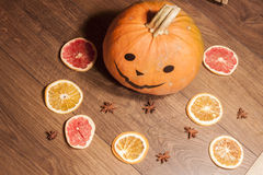 halloween sans bonbons potiron-et-fruits-secs